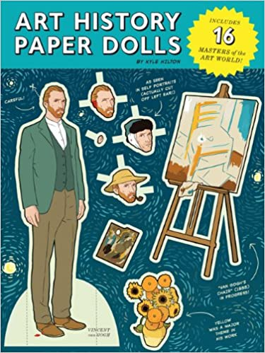 Book Art History Paper Dolls