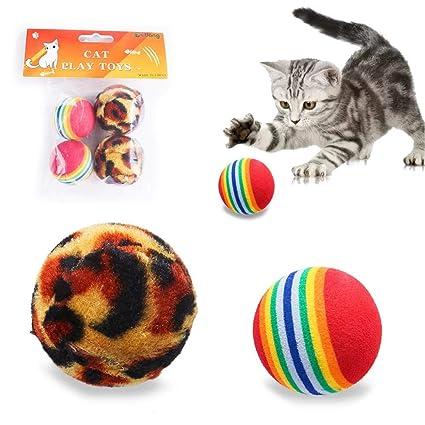 iBàste 4 Pieza Mascotas de Juguete Gato Cachorros Pet Toys Perro ...
