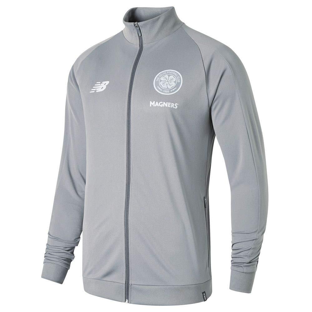 New Balance 2018-2019 Celtic Presentation Jacket (Grau)
