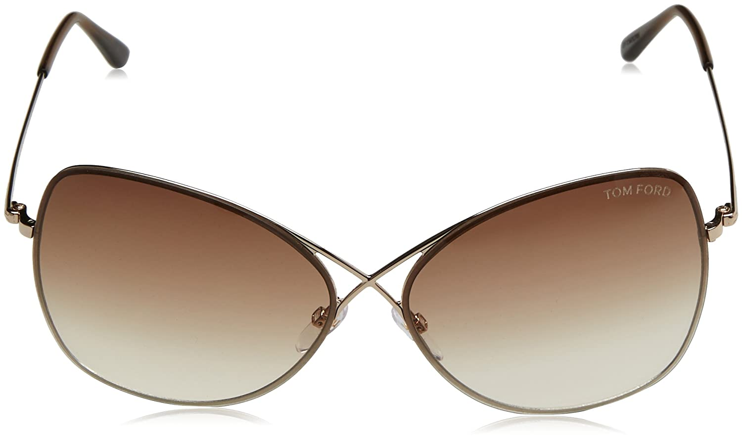 745c1c14fea5 Amazon.com  Tom Ford Sunglasses TF 250 BRONZE 48F Collete  Tom Ford   Clothing