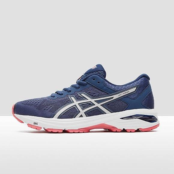 Asics Gt-1000 6, Zapatillas de Gimnasia Mujer, Azul (Insignia Blue / Silver / Rouge Red), 36 EU: Amazon.es: Zapatos y complementos