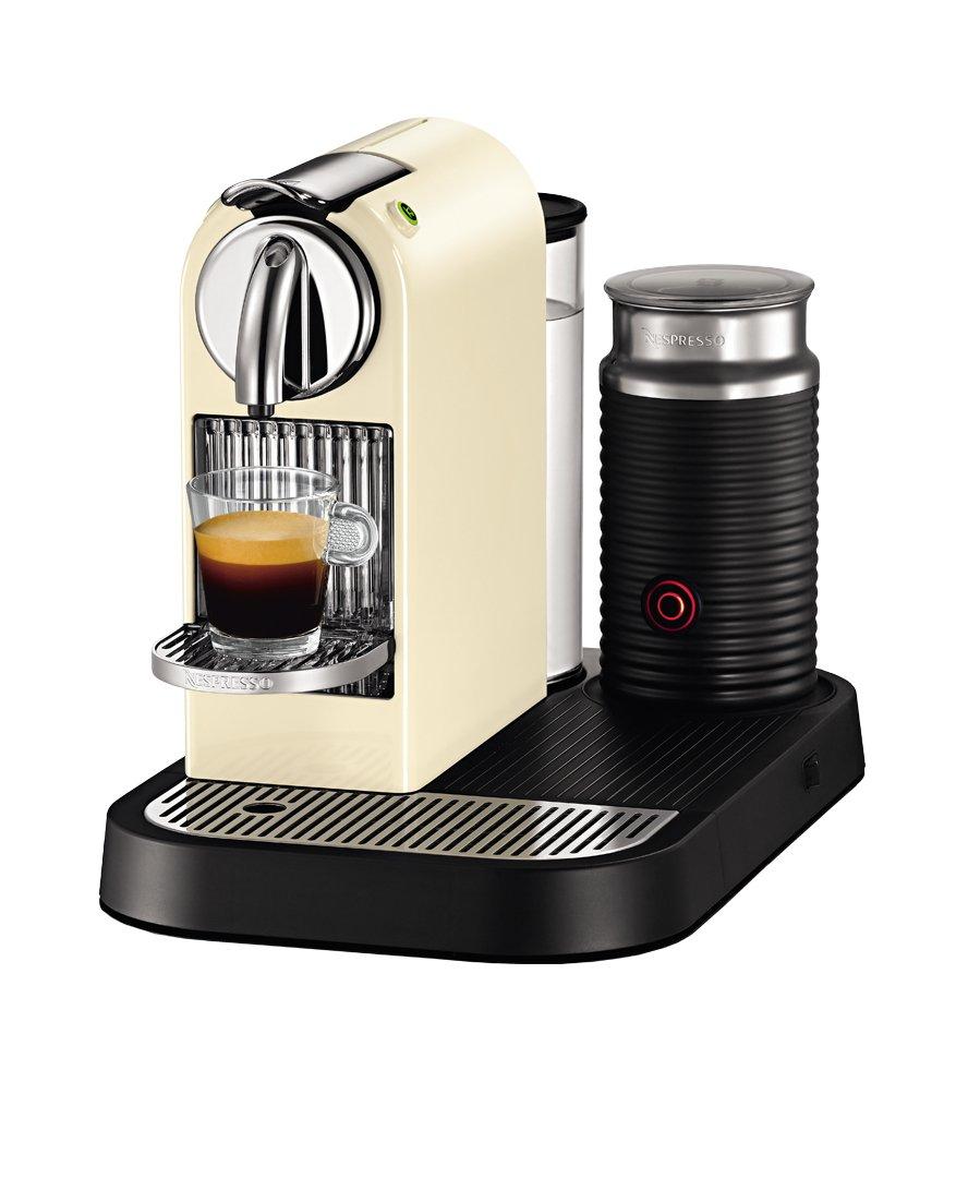 Nespresso Citiz & Milk D121 Independiente Totalmente automática Máquina de café en cápsulas 1L Crema de color - Cafetera (Independiente, Máquina de café en ...