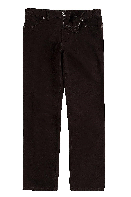 JP1880 Men's Big & Tall Pants Brown 58 700281 30-58