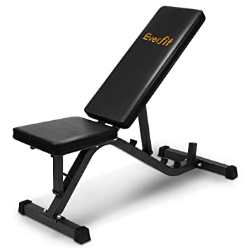 Everfit adjustable weight fid bench kg weight capacity home gym