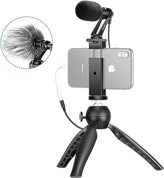 Neewer Smartphone Video Kit Mini Trípode Filmmaker con CM14 ...