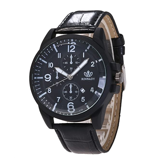 Dylung Reloj para Hombre Mujer Unisex Reloj de Pulsera de ...