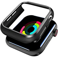 SPORTLINK 2 Pack Protector Case Cover Compatible with Apple Watch Series 2 3 38mm, Upgraded Shockproof Anti-Scratch Thin…