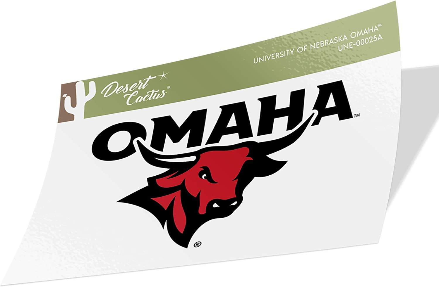 University of Nebraska at Omaha UNO Mavericks NCAA Vinyl Decal Laptop Water Bottle Car Scrapbook (Sticker - 00025A)