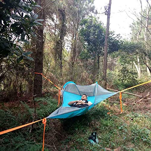 ShiXuan Single Person Hiking Traveling Tree Tent Outdoor Camping Tree Hammock Bed Ultralight Multi-functional Three…
