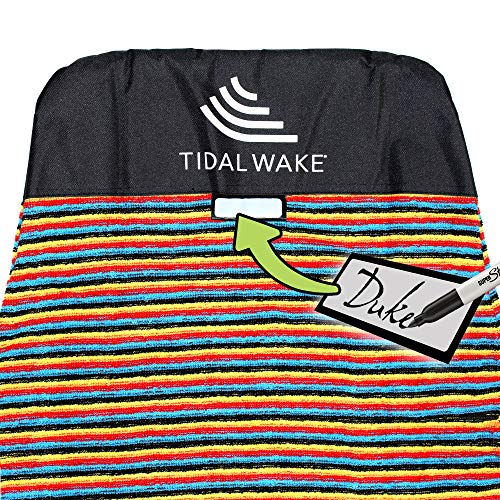 - Tidal Wake TAG-IT Snub Nose Multi Surf & Wake Board Sock Bag with Built-in Name Tag, 58-59