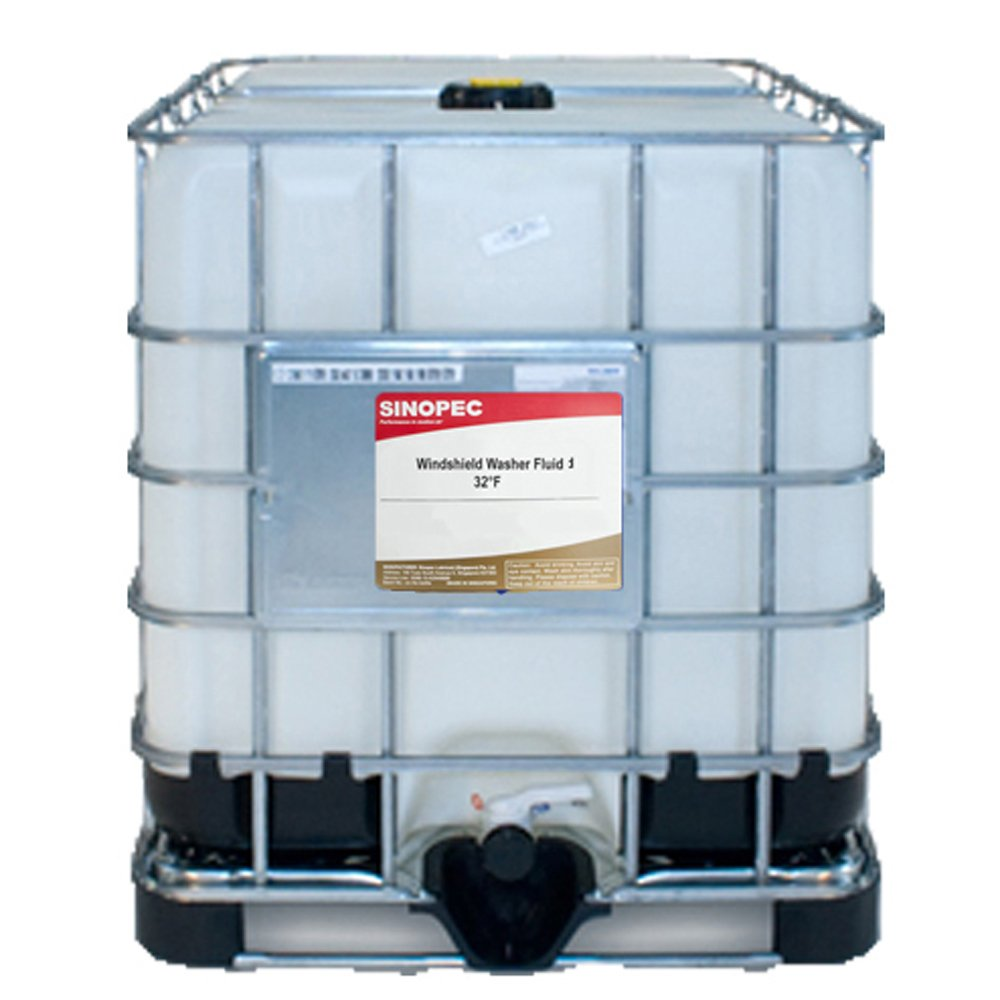 Windshield Washer Fluid, 32°F - 275 Gallon IBC Tote by Sinopec