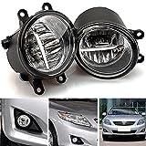 LED Front Fog Light Lamp for Toyota RAV4 Camry Corolla Solora Yaris Avalon Highlander Matrix Venza Prius Sienna