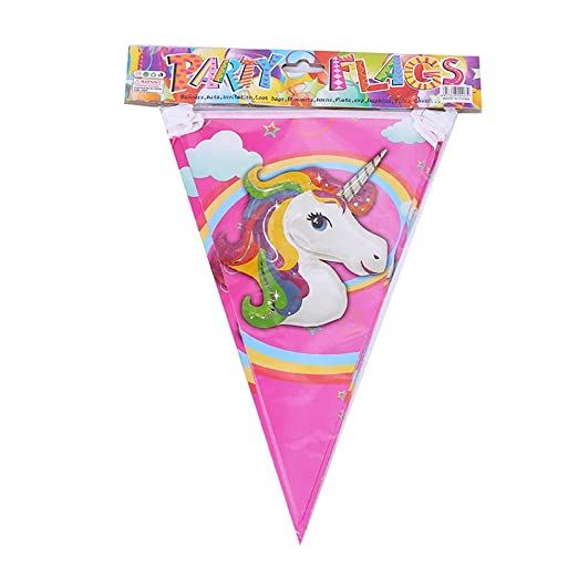 Aelegant Happy Birthday Party de Unicornio Decoración Niños ...
