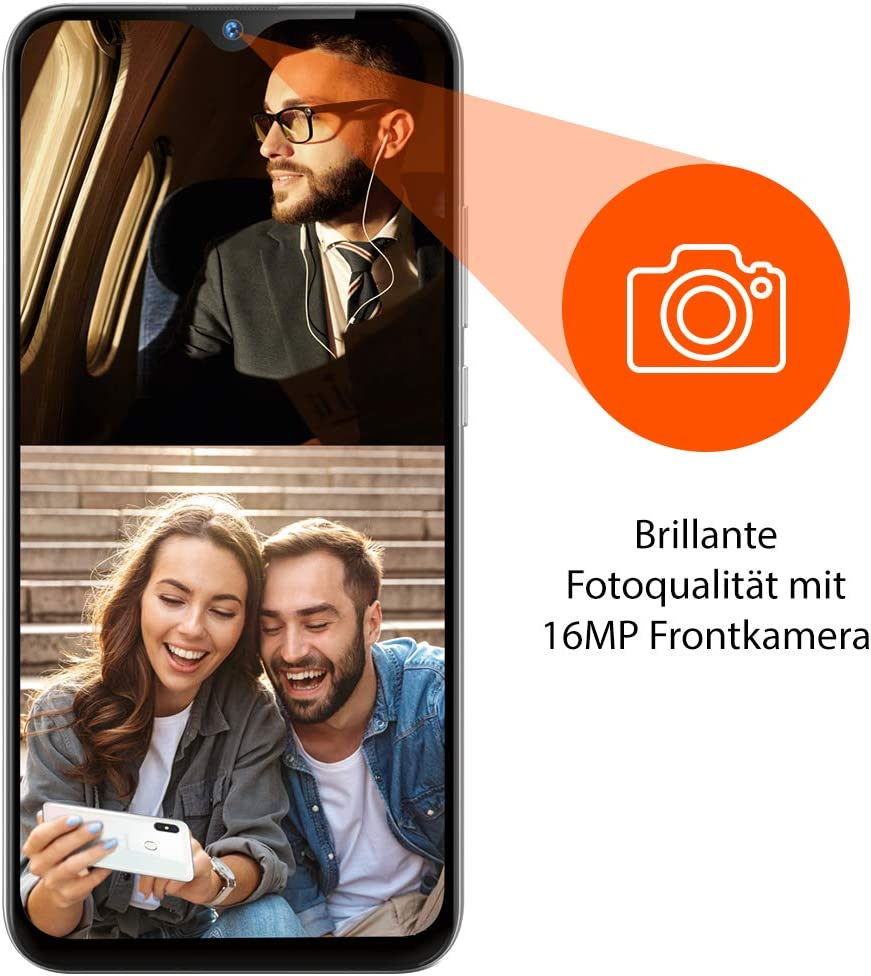 Gigaset Gs290 Smartphone 16 Mp Frontkamera Android Elektronik