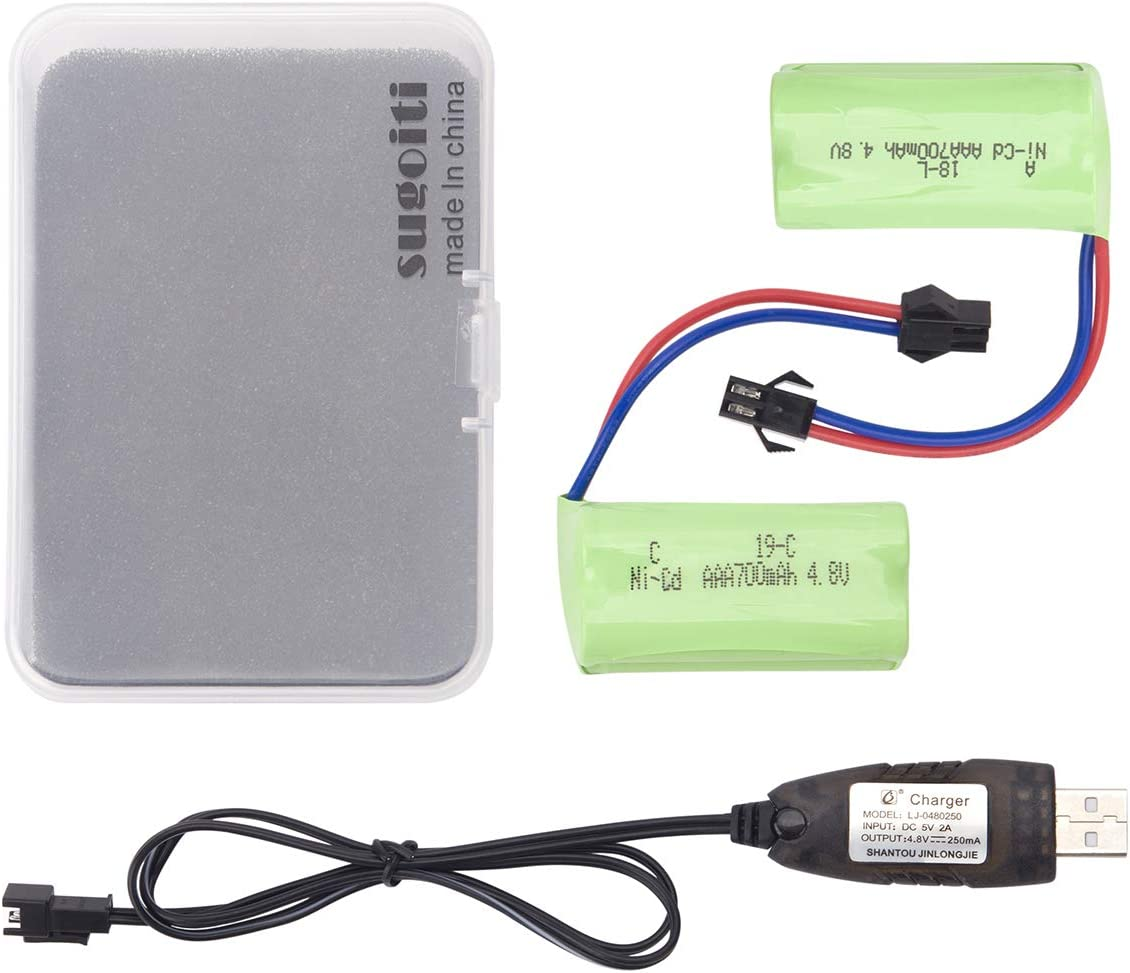 Bateria 4.8V 700mAH AAA Ni-Cd  SM-2P Plug [2 unidades]