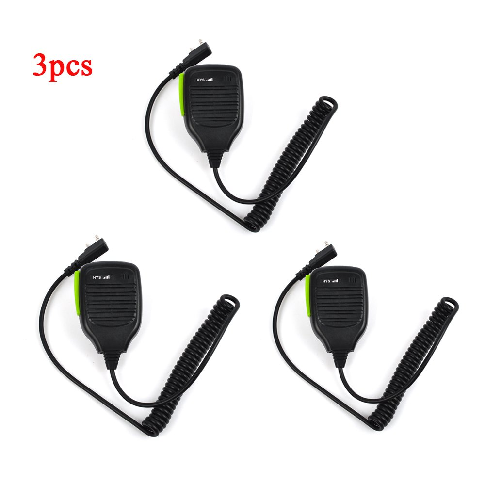2-Way Radio Remote Portable Shoulder Speaker Mic Microphone For Kenwood TK-350 TK-353 Puxing TPX-328 PX-333 PX-666 PX-777 BAOFENG UV-5R UV8 Walkie Talkie