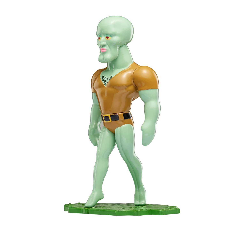 Amazon com spongebob squarepants masterpiece memes 8 collectible vinyl figure handsome squidward open eyes toys games