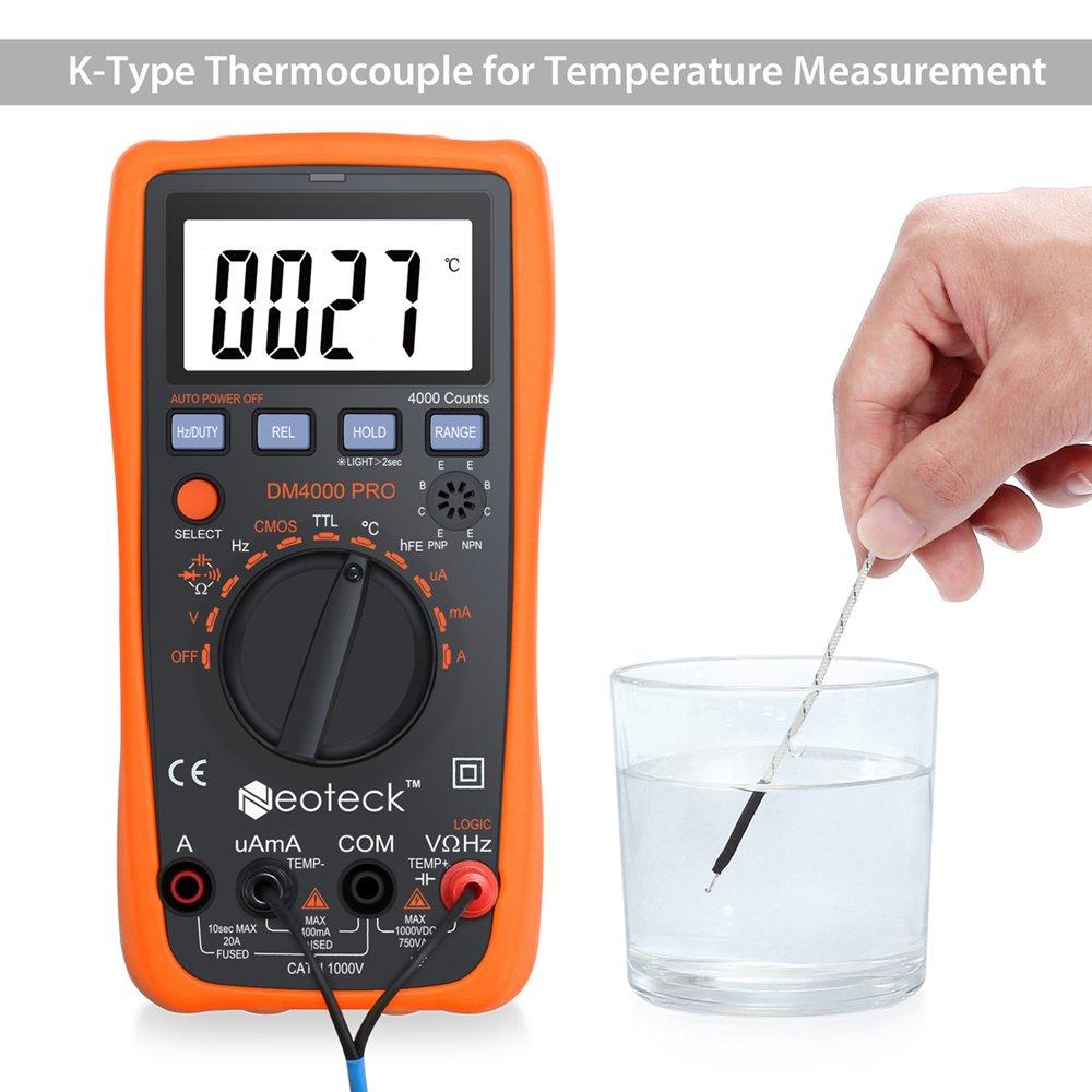 Misura della resistenza con un ohmmetro. Correnti di misurazione, tensioni e resistenze 69