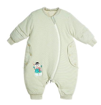 chils uessy Baby Invierno Algodón bio Niño Saco de dormir Saco de dormir infantil con aermeln