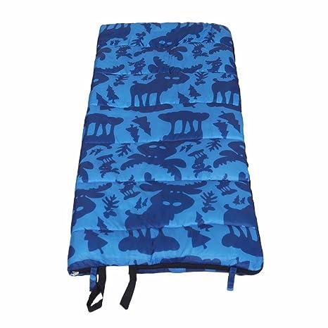 zhudj Sacos de dormir Primavera y saco de dormir infantil invierno exterior Viajes Camping Escuela Nap