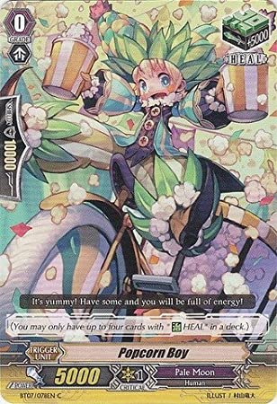 Cardfight!! Vanguard TCG - Popcorn Boy (BT07/078EN) - Rampage of the Beast King by Cardfight!! Vanguard TCG: Amazon.es: Juguetes y juegos