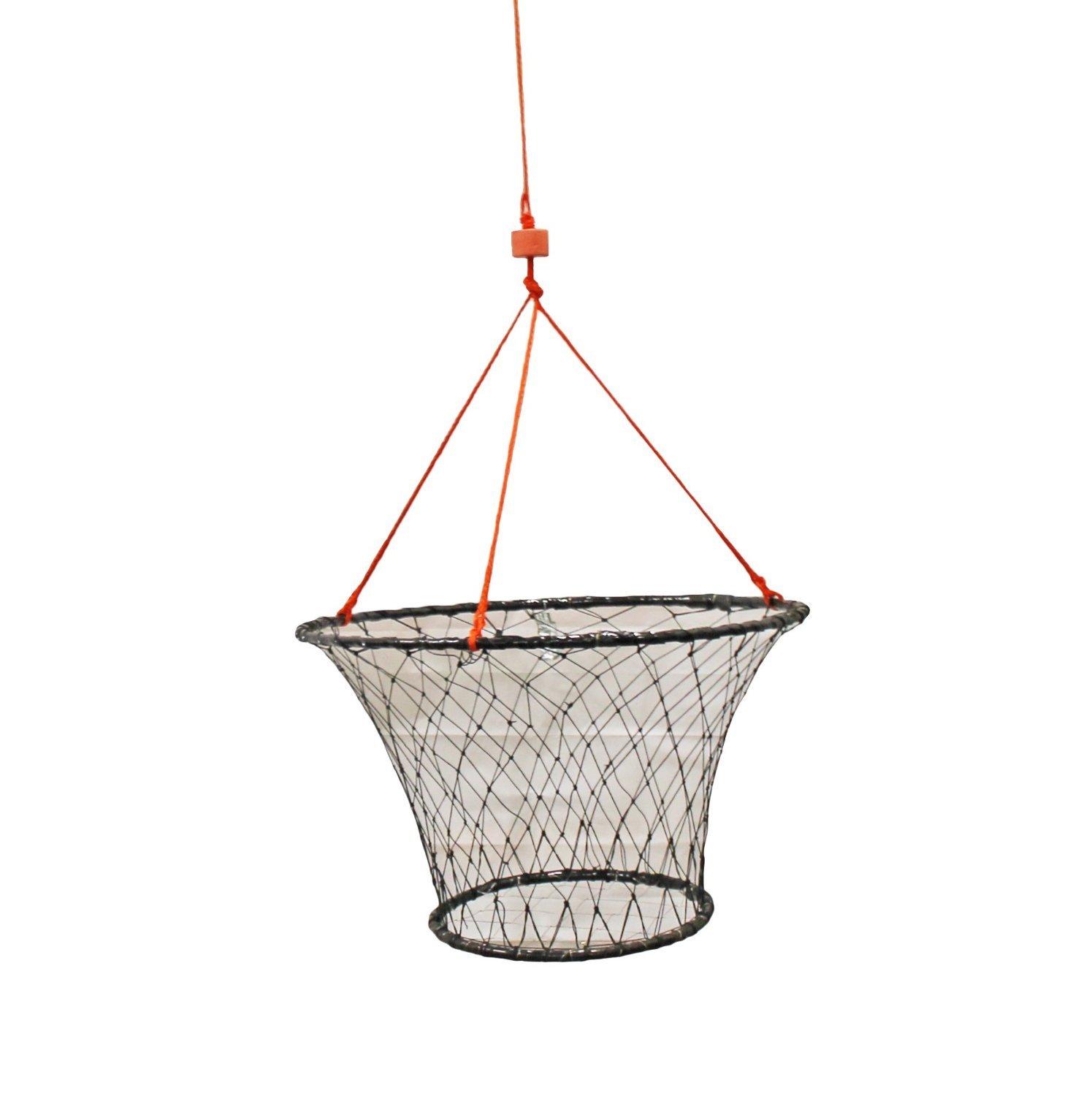 KUFA rubber wrapped steel ring crab trap (Size:ø30'') with 50' rope