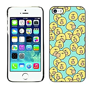 Plastic Shell Protective Case Cover || Apple iPhone 5 / 5S || Baby Blue Kids Children'S @XPTECH