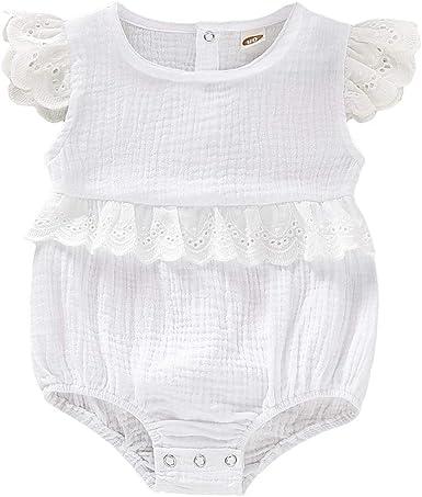 Midbeauty Cuter Version of Dad Newborn Baby Sleeveless Jumpsuit Romper