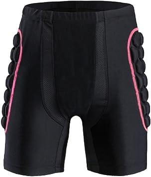 Pantalones Acolchados Cortos de Impacto, Shinmax Hombre Pantalones ...