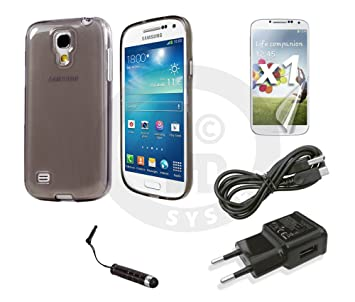 Funda silicona gris Samsung Galaxy S4 - i9500 o I9505 ...