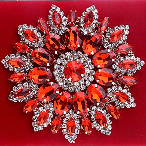 Bags KYS Clutch Bag red Women Beading Rhinestone Satin Wedding with for Evening Crystal Party Evening Event Handbag SB4Bw