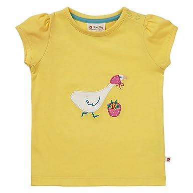 Piccalilly, Camiseta, Jersey de algodón orgánico, niñas, Ganso: Amazon.es: Ropa y accesorios