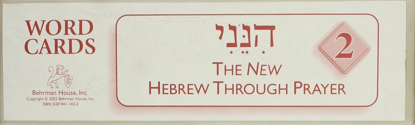 Hineni 2 - Word Cards (Hebrew Edition) pdf