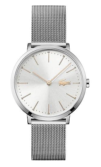 Lacoste 2000987 - Reloj analógico de pulsera para mujer  Amazon.es  Relojes a70c2e275da3
