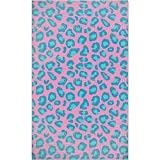 Leopard Animalprint Area Rug: Large Soft and Plush Stain Resistant