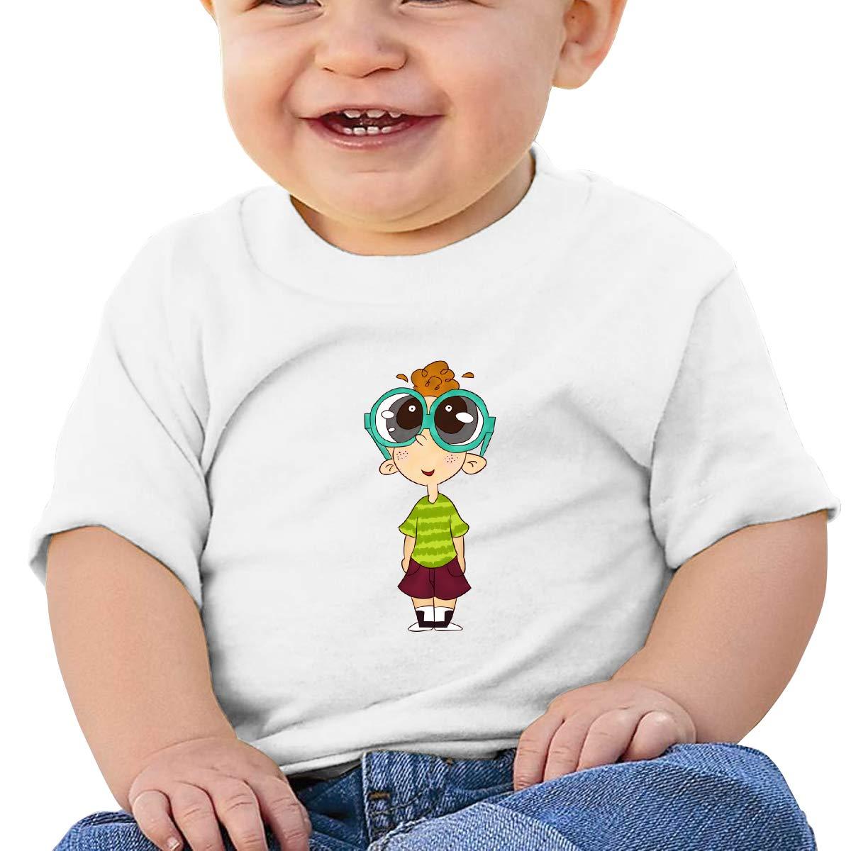 ShenigonLovely Children Toddler//Infant Short Sleeve Cotton T Shirts White 43
