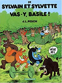 Book's Cover ofSylvain et Sylvette Tome 39 : Vas-y Basile !