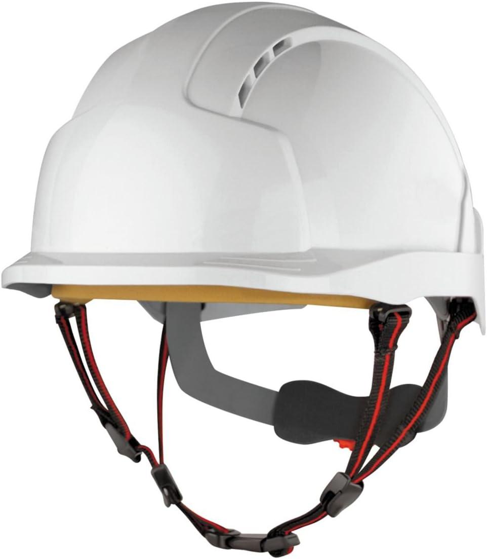 JSP Evolite Skyworker industrielle Hauteur Casque de sécurité Blanc: Amazon.es: Bricolaje y herramientas