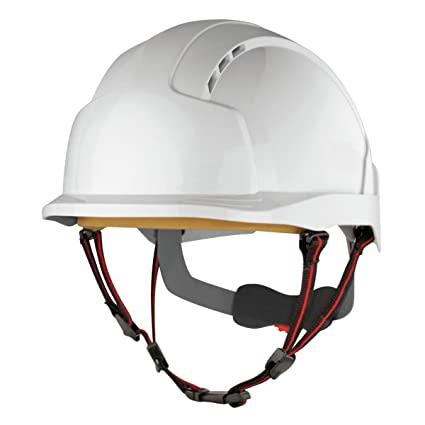 JSP Evolite Skyworker Industrial altura casco de seguridad blanco