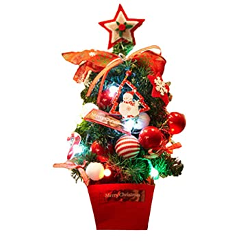 xmas trees artificial diy flocking christmas tree multicolor holiday window decor cristmas decoration b