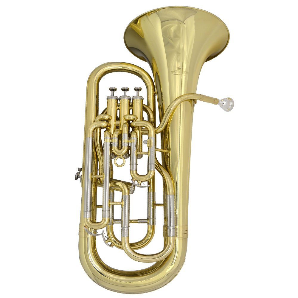 Schiller Custom Shop Elite IV Compensating Euphonium - Gold