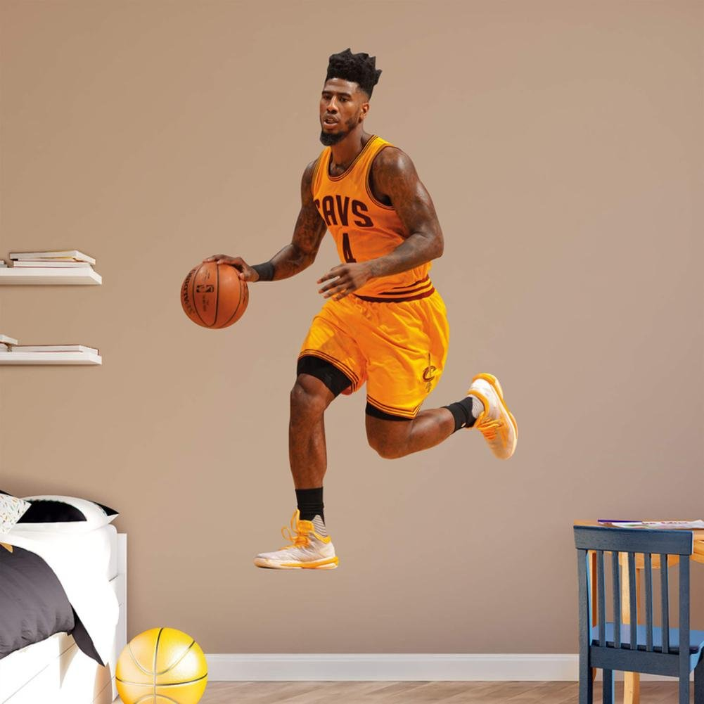 NBA Iman Shumpert 2015-2016 Gold RealBig Wall Decal 51 x 78in by Fathead