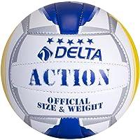 Delta Unisex Voleybol Topu Action, Çok Renkli, Tek Beden