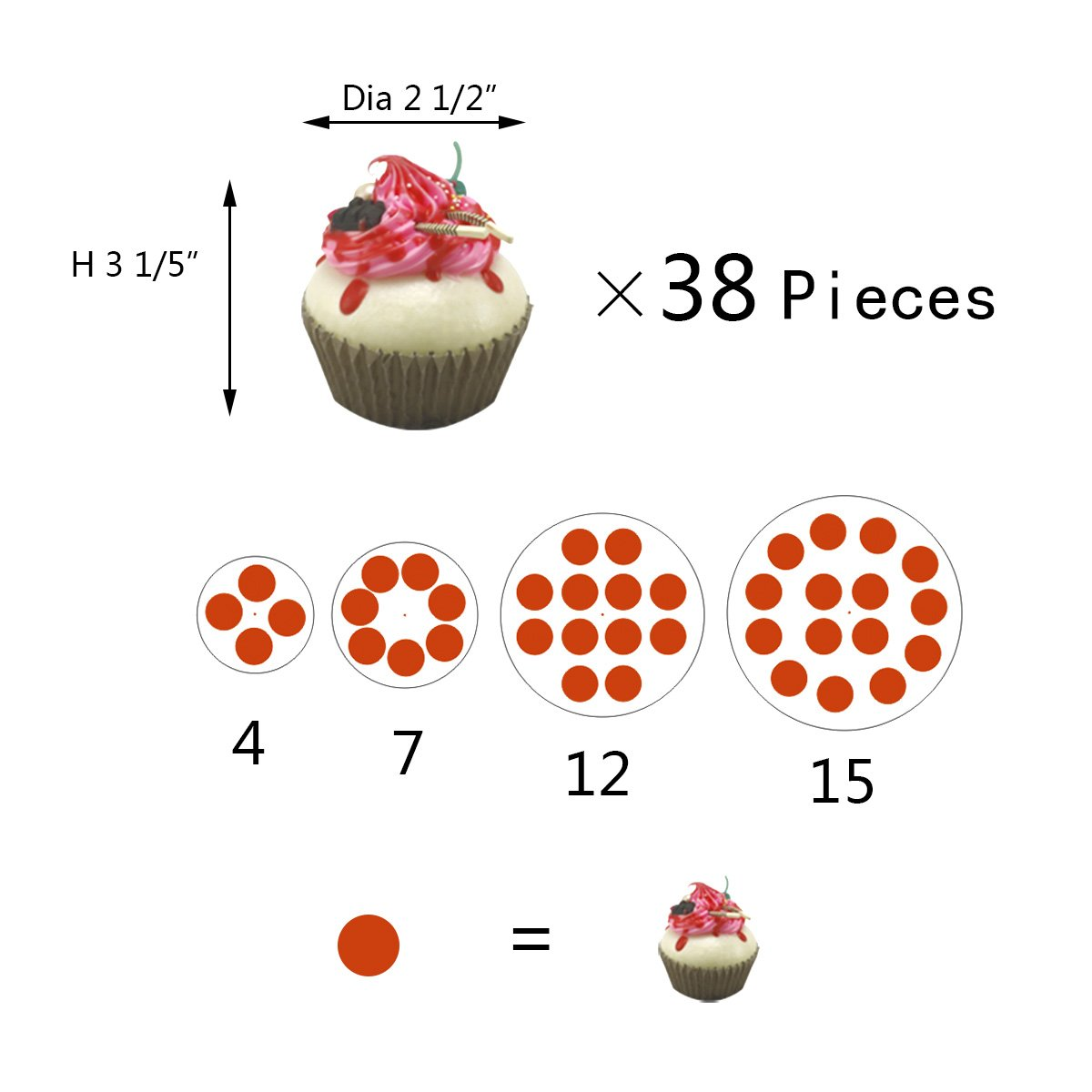 2018 New Style 4 Tiers Cupcake Stands Tower - Clear Acrylic Display Holder Tree - Tiered Cupcake Display- Tiered Round Pastry Stand Dessert Stands Wedding Cake Stands For Parties Birthday - DYCacrlic by DYCacrlic (Image #3)