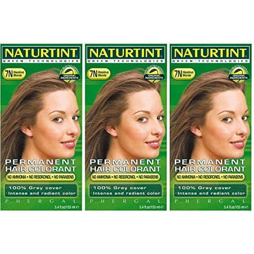 (3 PACK) - Naturtint - Hair Dye - 7N Hazelnut Blonde   135ml   3 PACK BUNDLE