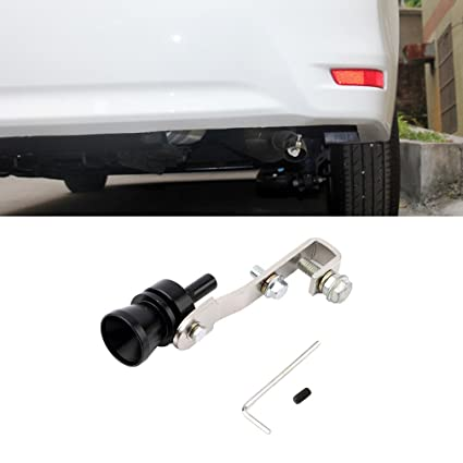 Pettstore Universal Turbo Sound Whistle Simulator Sound Pipe Exhaust Muffler Pipe