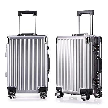 Viaje llevar equipaje de cabina Spinner Travel Equipaje Maletas Trolley Juego de 2 piezas anidadas 20in 24in Maleta para equipaje Carcasa rígida Ligera para ...