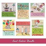 Curly Girl Design AZBUNDLE8 Soul Sister Card Bundle
