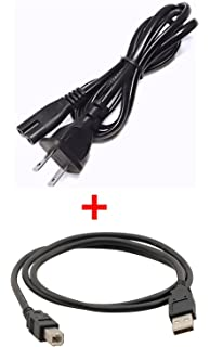 Amazon.com: Ipax 15ft USB Printer Cable AC Power Cord ...