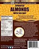 Gourmet Dark Chocolate Covered Almonds - Raw, Sprouted & Organic!